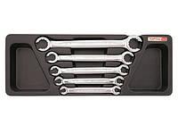 Набор ключей разрезных 8-22 мм  5 ед. (в ложементе) TOPTUL GAAT0502