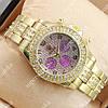 Молодежные наручные часы Rolex Brilliant Gold/ Purple 2072