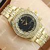 Аналоговые наручные часы Rolex Brilliant Gold/ Gold-black 2078