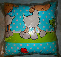 Детская подушка- цветная 38*38 см