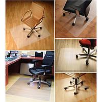 Защитный коврик под кресло. Защита пола от повреждений офисным креслом. Антискользящее покрытие. Код: КЕ385