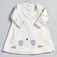 Костюм - платье и боди для девочки (6-12 мес), Natures Purest