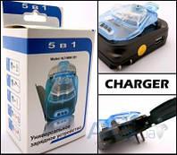 "Зарядное устройство Siyoteam ""Жабка"" 5 в 1 c зарядкой АА батарейки"