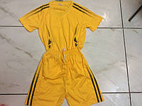 Форма футбольная детская p.S желтая