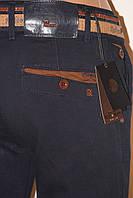 Модные стильные джинсы брюки тёмно синие REDMAN