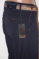 Модные стильные джинсы брюки тёмно синие REDMAN зауженные