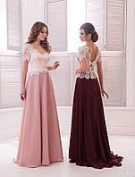 Вечернее платье (16) для выпускных вечеров и свидетельниц (цвета - в ассортименте)