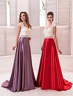 Вечернее платье (19) для выпускных вечеров и свидетельниц (цвета - в ассортименте)