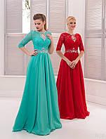 Вечернее платье (22) для выпускных вечеров и свидетельниц (цвета - в ассортименте)