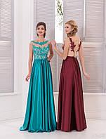 Вечернее платье (25) для выпускных вечеров и свидетельниц (цвета - в ассортименте)