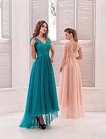 """Вечернее платье """"27"""" для выпускных вечеров и свидетельниц (цвета - в ассортименте)"""