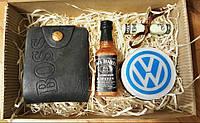 """Мыло ручной работы """"Большой набор: портмоне, виски Jack Daniels,Volkswagen """""""