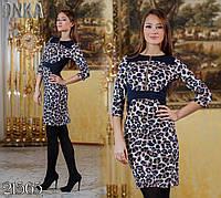 """Элегантное женское платье мини  """"Ла бомба блю"""" мод ДГ790"""