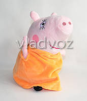 Мама из мультфильма Свинка Пеппа мягкая 19 см.