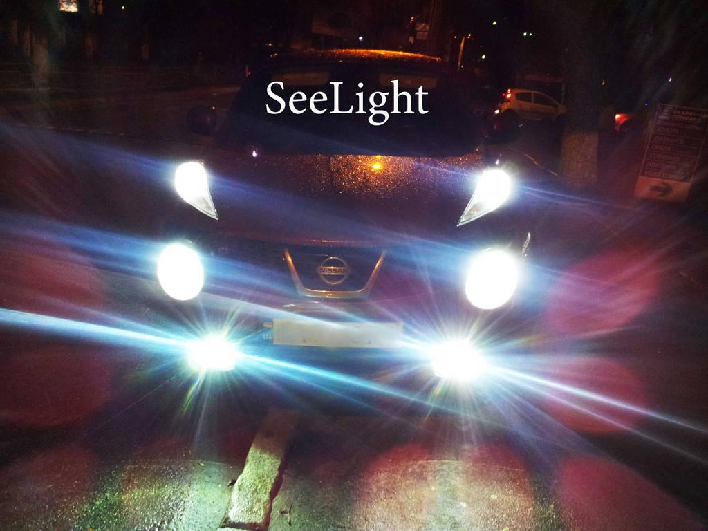 Nissan JUKE габариты и головной свет