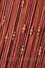 Нитяные шторы кисея с тройным стеклярусом ст3