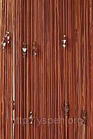 Веревочные шторы с тройным стеклярусом серый ст12