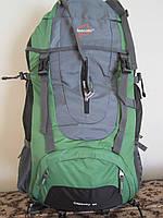 Рюкзак туристический Leacom 60л зеленый 0002