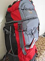 Рюкзак туристический Leacom 60л красный 0002
