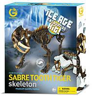 Детский игровой набор Ледниковый период Саблезубый тигр Geoworld