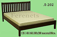 Кровать из дерева Л-202 купить в Одессе