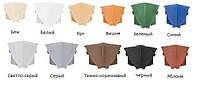 Уголок для плинтуса внутренний беж/белый/ бук/вишня/ зеленый/синий/ светло-серый/серый/ темно-коричневый...