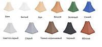 Уголок для плинтуса наружный беж/белый/ бук/вишня/ зеленый/синий/ светло-серый/серый/ темно-коричневый...