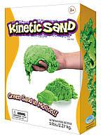 Кинетический песок зеленый 2,3 кг  Waba Fun