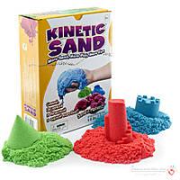 Кинетический песок три цвета 3кг  Waba Fun