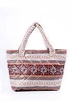 Женская дутая сумка POOLPARTY с северным узором