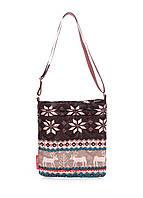 Женская сумка - планшет POOLPARTY с оленями