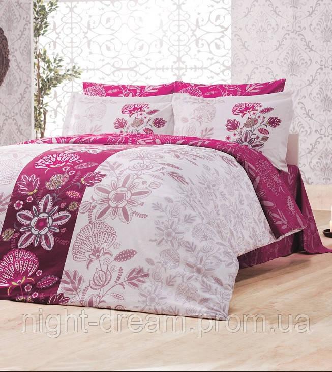 Комплект постельного белья евро 200х220  Gokay Ranforce Dream