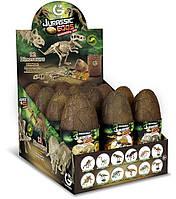 Игрушечные яйца динозавров Юрского периода - Скелеты Geoworld