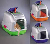 Закрытые туалеты для котов и маленьких собачек