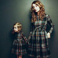 Платье в клетку Family Look