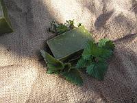 Натуральное мыло для волос Крапивушка