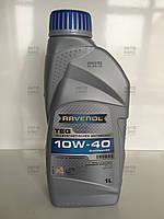 Моторное масло п/синтетическое 10W-40 TEG 1л. Пр-во Ravenol