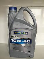 Моторное масло п/синтетическое 10W-40 TEG 4л. Пр-во Ravenol