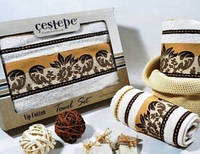 Подарочный набор махровых полотенец  Monalisa