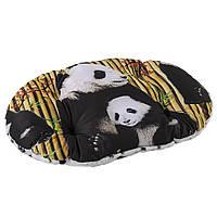 Подушка для собак и кошек из синтетической ткани и плюша, RELAX F.