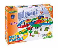 Детский гараж Wader Kid Cars 3D с трассой 5,5 м (53130)