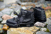 Кроссовки Nike Air Yeezy 2 All Black р.41-44