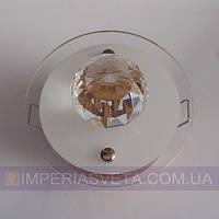 Светильник точечный встраиваемый для подвесного потолка FERON с плафоном LUX-316263