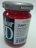 Краска акриловая Polycolor 140мл 280 киноварь (имитация) Maimeri
