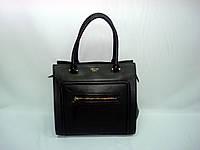 Женская черная кожаная сумка Celine