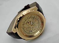 Мужские часы BREITLING for Bentley - кварцевые, цвет корпуса и циферблата золотистый