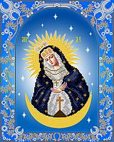 Схема на ткани для вышивания бисером Остробрамская икона Божией Матери AС3-022