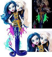 Кукла монстер хай Пери и Перл Серпентайм из серии Большой кошмарный риф.