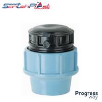 Заглушка 50 мм для водопровода Сантехпласт
