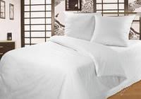 Двухспальный комплект постельного белья Бязь люкс: Белое